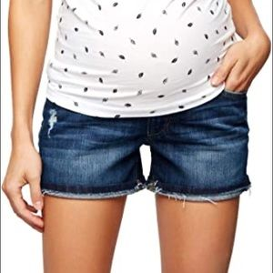 Joe's jeans 29 markie denim maternity shorts 0673